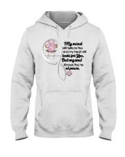 Family Dog My Mind Still Talks To You - LTE Hooded Sweatshirt thumbnail