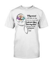 Butterfly TOL My Mind Still Talks Heartbeat - LTE  Classic T-Shirt front