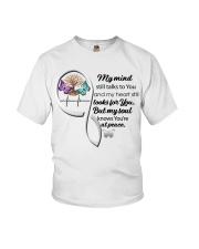 Butterfly TOL My Mind Still Talks Heartbeat - LTE  Youth T-Shirt thumbnail