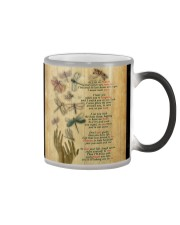 DRAGONFLY AS I SIT IN HEAVEN - BEST SELLER  Color Changing Mug thumbnail