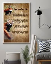 RED PANDA REMEMBER ME POSTER 11x17 Poster lifestyle-poster-1