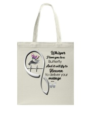Purple Butterfly  God Has You Ver 2 - LTE Tote Bag thumbnail