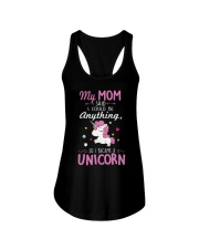 Unicorn Tee Shirt Ladies Flowy Tank thumbnail