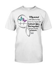 Butterfly My Mind Still Talks Heartbeat - LTE  Classic T-Shirt front