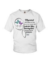 Butterfly My Mind Still Talks Heartbeat - LTE  Youth T-Shirt thumbnail