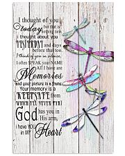 Dragonfly I Thought Of You - LTE  11x17 Poster front