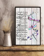 Dragonfly I Thought Of You - LTE  11x17 Poster lifestyle-poster-3