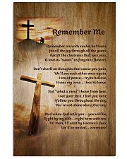 Faith Cross Christ Remember Me - LTE  11x17 Poster front