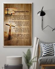 Faith Cross Christ Remember Me - LTE  11x17 Poster lifestyle-poster-1