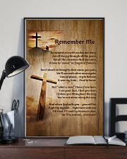 Faith Cross Christ Remember Me - LTE  11x17 Poster lifestyle-poster-2
