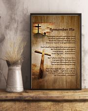 Faith Cross Christ Remember Me - LTE  11x17 Poster lifestyle-poster-3