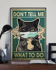 CAT DON'T TELL ME WHAT TO DO - LIMITED EDITION  11x17 Poster lifestyle-poster-2