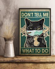 CAT DON'T TELL ME WHAT TO DO - LIMITED EDITION  11x17 Poster lifestyle-poster-3