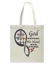 Hummingbirds Cross God Has You - LTE Tote Bag thumbnail