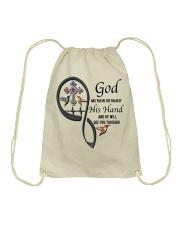 Hummingbirds Cross God Has You - LTE Drawstring Bag thumbnail