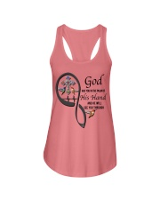 Hummingbirds Cross God Has You - LTE Ladies Flowy Tank thumbnail