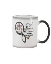 Hummingbirds Cross God Has You - LTE Color Changing Mug thumbnail