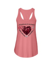 Butterfly I Will Hold You In My Heart - LTE  Ladies Flowy Tank thumbnail