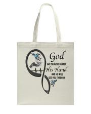 Blue Hummingbirds  God Has You - LTE Tote Bag thumbnail