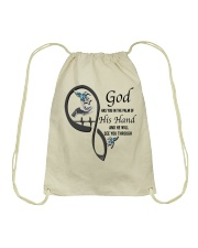 Blue Hummingbirds  God Has You - LTE Drawstring Bag thumbnail