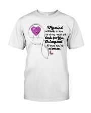 Family Butterfly My Mind Still Talks To You - LTE Classic T-Shirt front