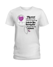 Family Butterfly My Mind Still Talks To You - LTE Ladies T-Shirt thumbnail