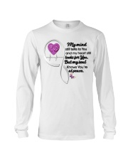 Family Butterfly My Mind Still Talks To You - LTE Long Sleeve Tee thumbnail