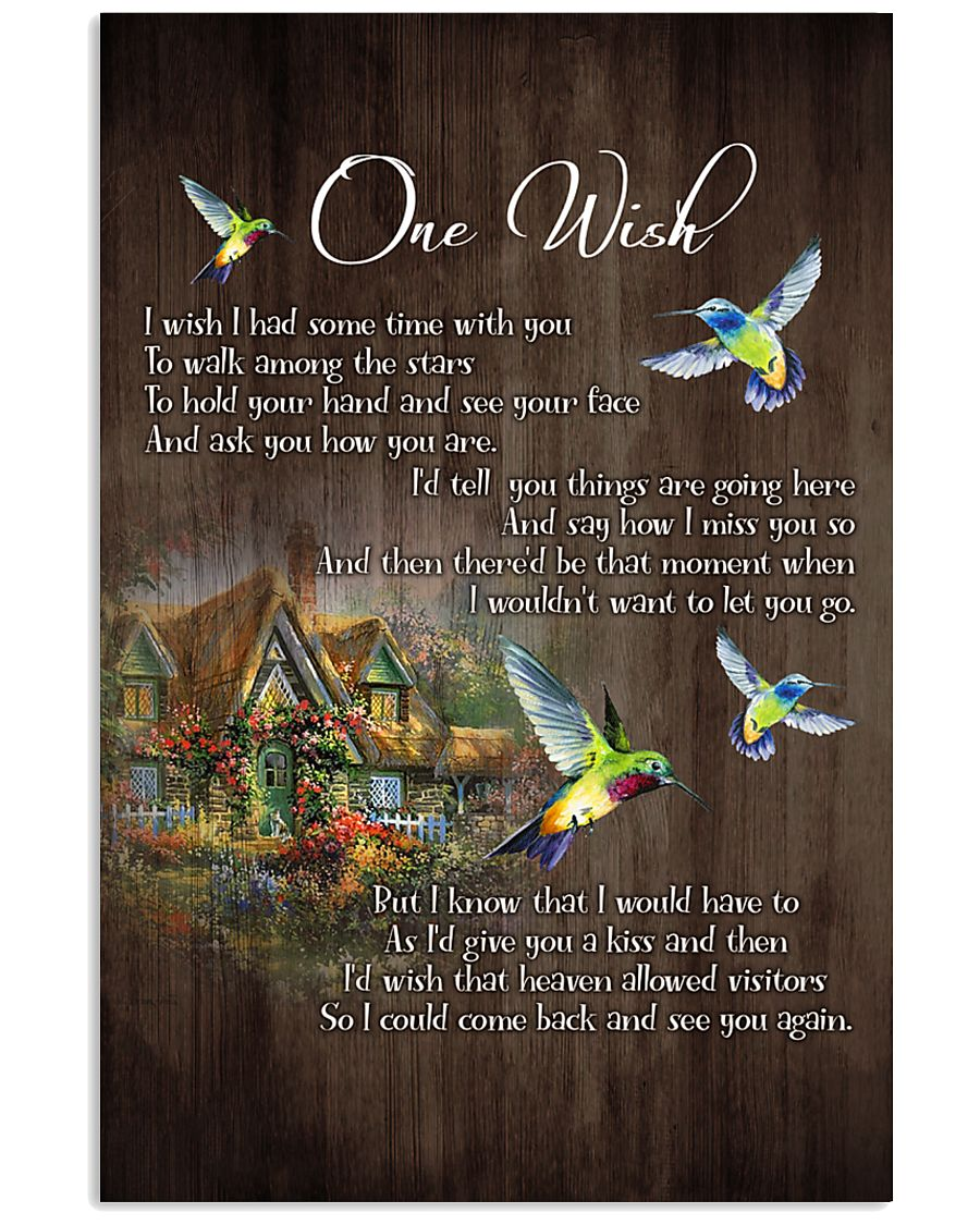 One Wish  - HUmmingbird - New Arrival 11x17 Poster