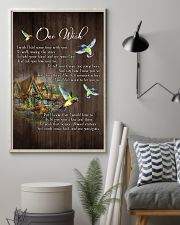 One Wish  - HUmmingbird - New Arrival 11x17 Poster lifestyle-poster-1