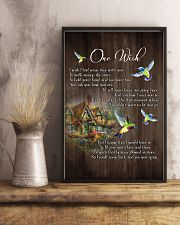One Wish  - HUmmingbird - New Arrival 11x17 Poster lifestyle-poster-3