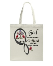 Birds Cross God Has You - LTE Tote Bag thumbnail