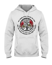 Bird Tree Of Life My Mind Still Talks - LTE  Hooded Sweatshirt thumbnail