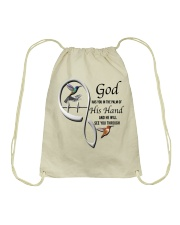Hummingbirds God Has You - LTE Drawstring Bag thumbnail