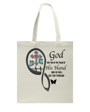 Butterflies Cross God Has You - LTE Tote Bag thumbnail