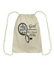 Butterflies Cross God Has You - LTE Drawstring Bag thumbnail
