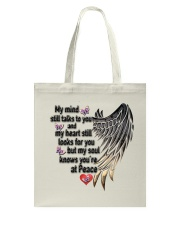 Gem Butterfly My Mind Still Talks To You - LTE Tote Bag thumbnail
