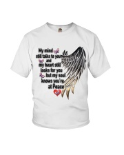 Gem Butterfly My Mind Still Talks To You - LTE Youth T-Shirt thumbnail
