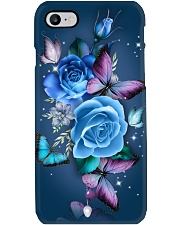BUTTERFLY TURQUOISE ART  Phone Case i-phone-7-case