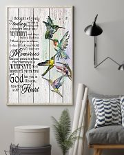 Hummingbird I Thought Of You - LTE  11x17 Poster lifestyle-poster-1