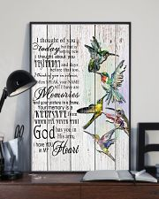 Hummingbird I Thought Of You - LTE  11x17 Poster lifestyle-poster-2