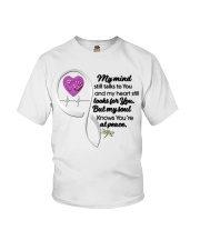 Family Dragonfly My Mind Still Talks To You - LTE Youth T-Shirt thumbnail