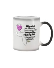 Family Dragonfly My Mind Still Talks To You - LTE Color Changing Mug thumbnail