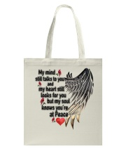 Birds My Mind Still Talks To You - LTE Tote Bag thumbnail