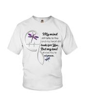 Dragonfly My Mind Still Talks Heartbeat Ver - LTE  Youth T-Shirt thumbnail
