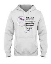Dragonfly My Mind Still Talks Heartbeat Ver - LTE  Hooded Sweatshirt thumbnail
