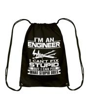 I can't fix stupid Drawstring Bag thumbnail