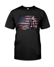 GOALIE LACROSSE FLAG Classic T-Shirt front
