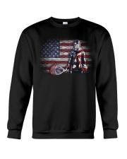 GOALIE LACROSSE FLAG Crewneck Sweatshirt thumbnail