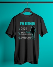 I'M EITHER Classic T-Shirt lifestyle-mens-crewneck-front-3