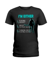 I'M EITHER Ladies T-Shirt thumbnail